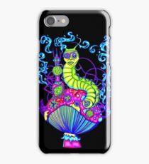 Hooka Smoking Caterpillar Glow iPhone Case/Skin