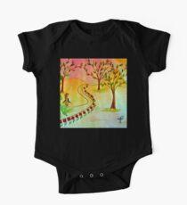 An autumn walk at dusk Kids Clothes