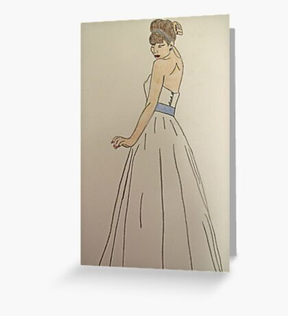 Wedding Dress No 1 Greeting Card