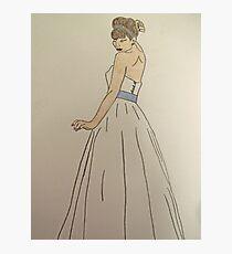 Wedding Dress No 1 Photographic Print