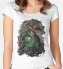 Gunslinger Fett Women's Fitted Scoop T-Shirt