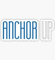 Grand Valley State University - Anchor Up Sticker