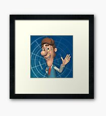 Jimmy Neutrons Dad Framed Print