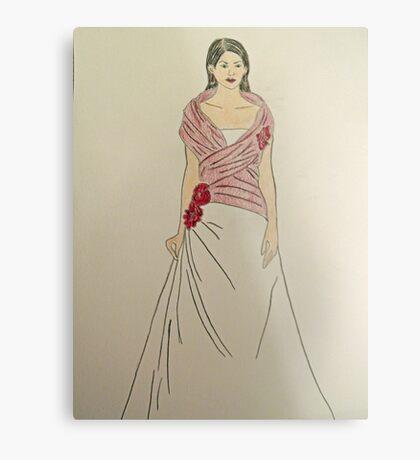 Wedding Dress No 2 Metal Print