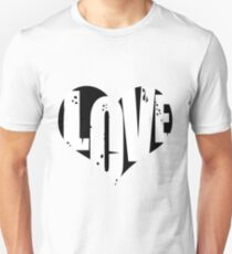 Love in Heart Unisex T-Shirt