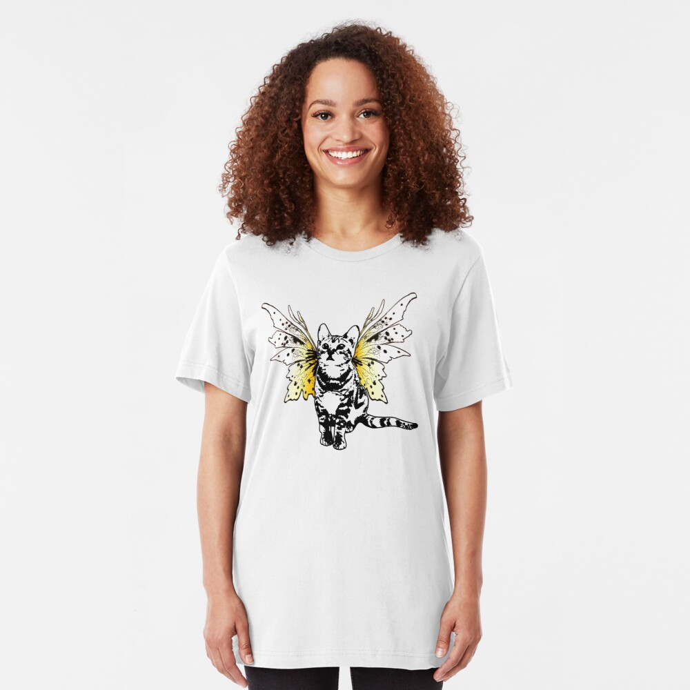 He's A Fairy Sweet Kitty Slim Fit T-Shirt