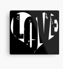 Love in Heart Metal Print