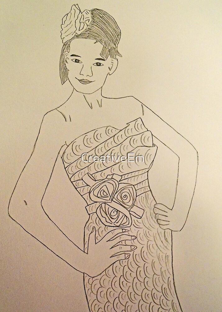 Wedding Dress No 3 by CreativeEm