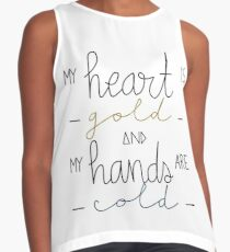 gold heart / cold hands Contrast Tank