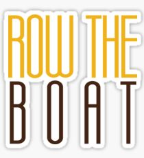 Western Michigan University - Row the Boat Sticker