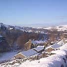 Peak District Snow by mindgoop