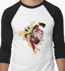 Monkey Rag- Mitzi and Spanko Men's Baseball ¾ T-Shirt