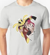 Monkey Rag- Mitzi and Spanko Unisex T-Shirt