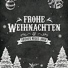 Frohe Weihnachten! von pixelcafe