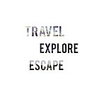 Travel Explore Escape- 3 Pack Landscapes by jennaannx11