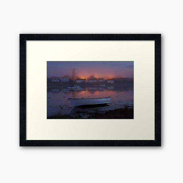 Bosham Boat Framed Art Print