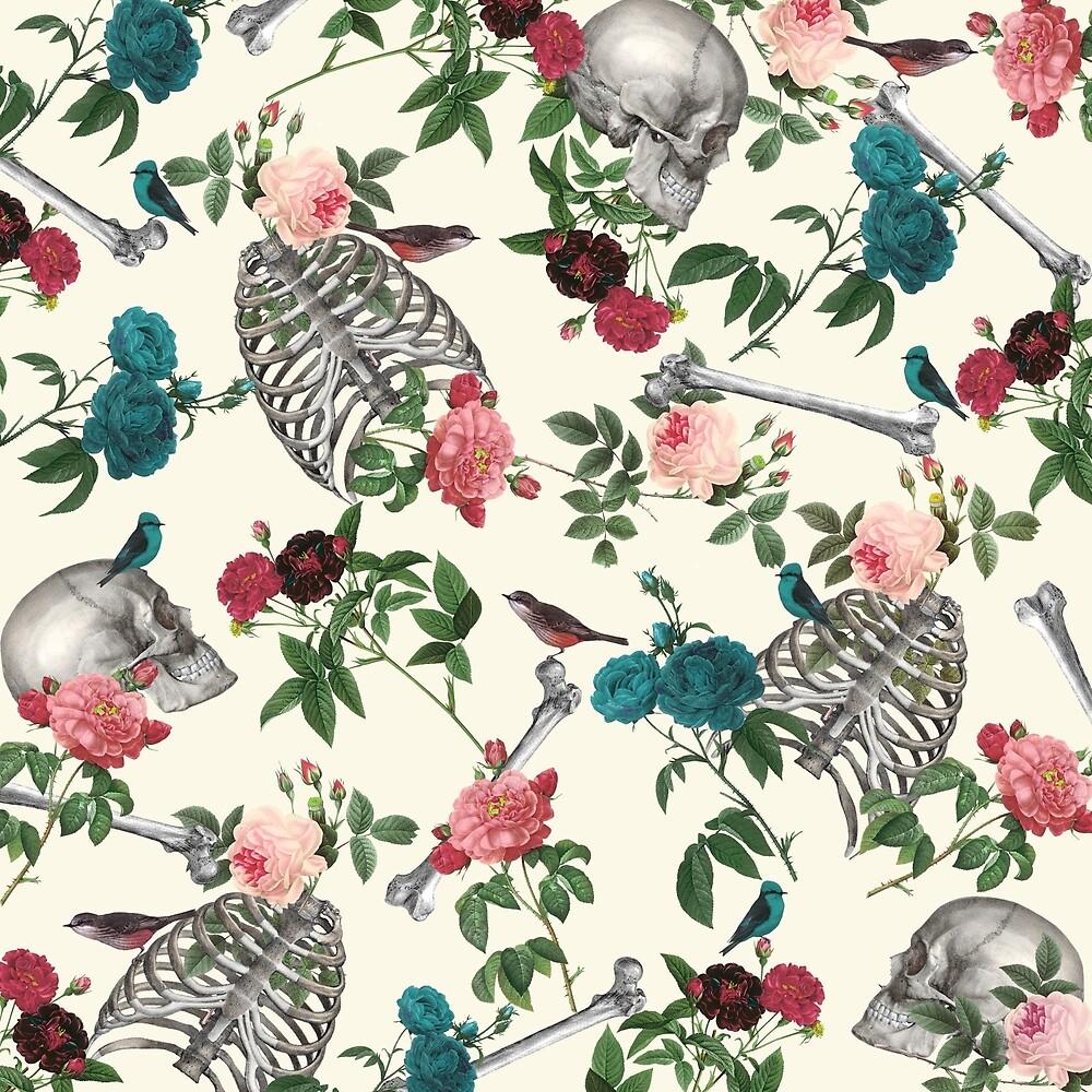 romantic halloween by paula belle flores - Halloween Prints