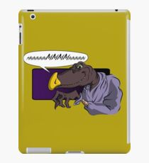 QUIET YOU WHIMPERING WORM! iPad Case/Skin