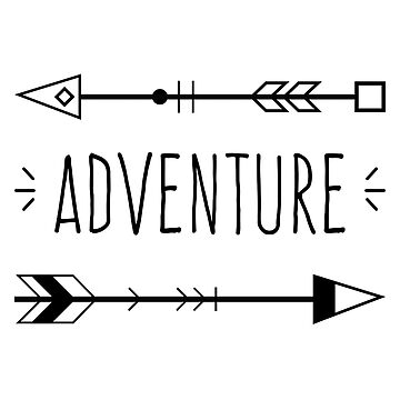 Adventure Typography by estybain