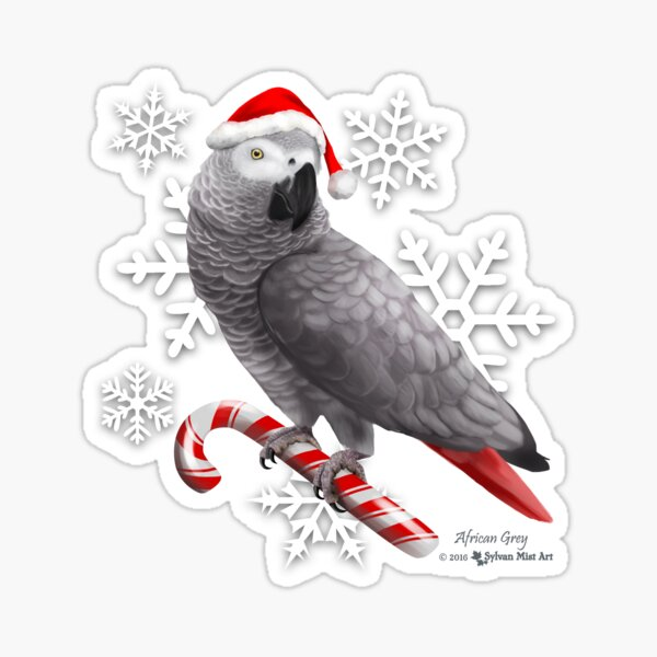 Santa Grey! Sticker
