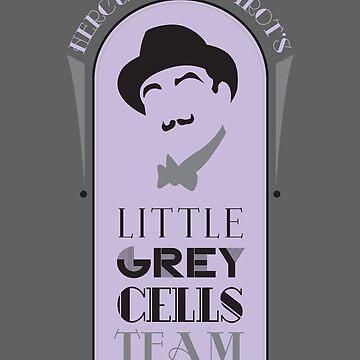 Poirot's Little Grey Cells Team by erospsyche