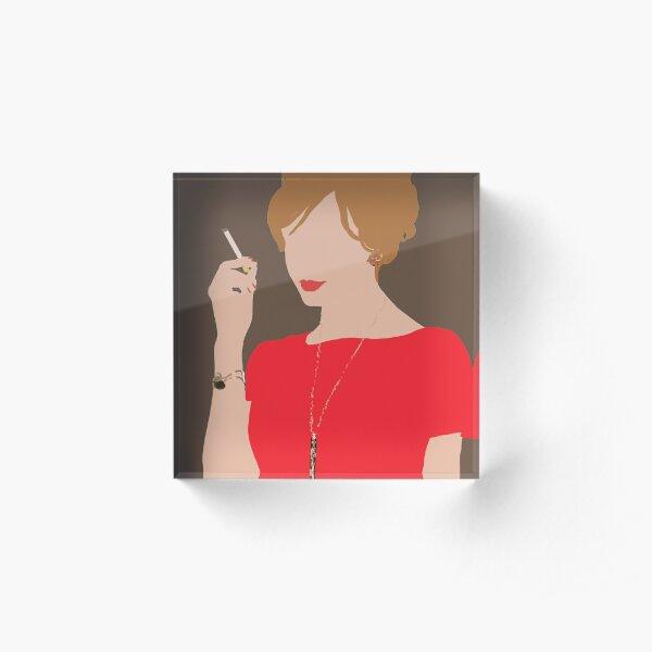 Joan Holloway Bloc acrylique