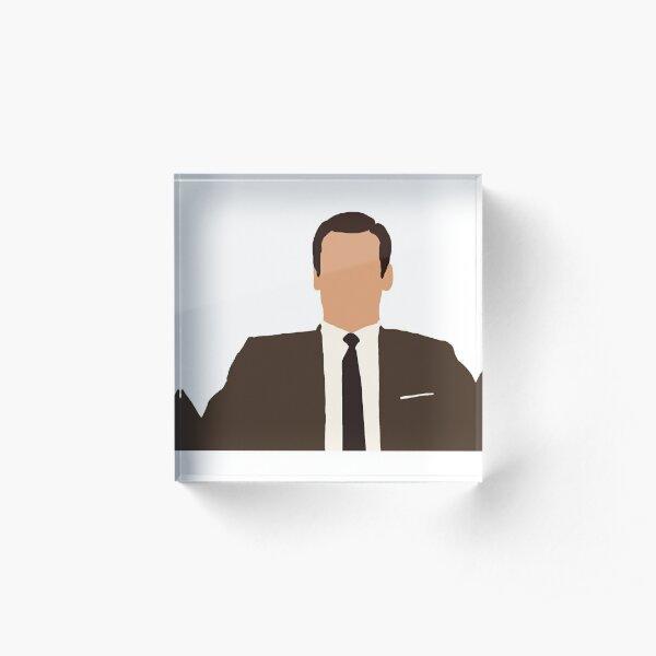 Don Draper Acrylic Block