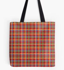 Plaid Pattern Tote Bag