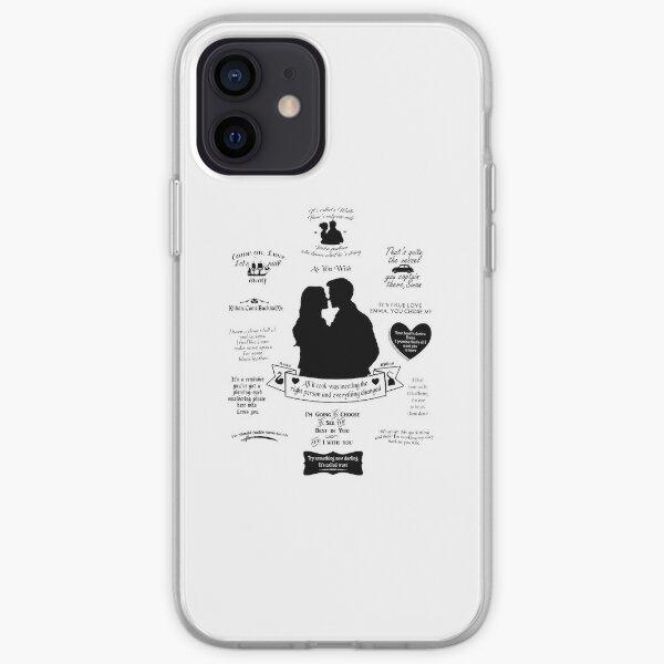 "Captain Swan ""Iconic Quotes"" Silhouette Design 2 iPhone Soft Case"