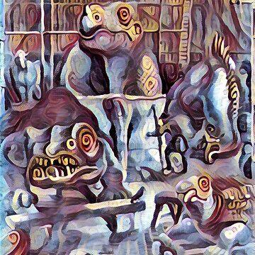 Crystal Palace Dinosaurier von Schwaz