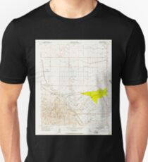 USGS TOPO Map California CA Tupman 301000 1954 24000 geo T-Shirt