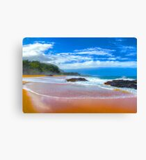 Lumaha'i Beach, Kauai Canvas Print