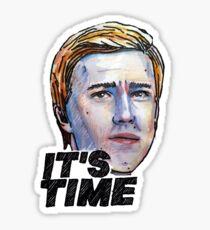 It's Time Sticker