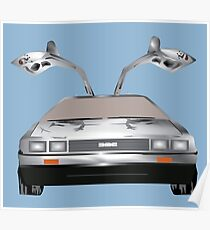 DMC DeLorean Poster
