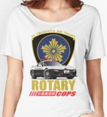 Rotary Cops RX7 FD Women's Relaxed Fit T-Shirt