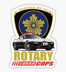 Rotary Cops RX7 FD Sticker