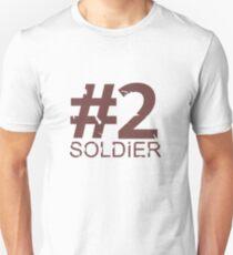 Soldier Number 2 Mug - RED T-Shirt