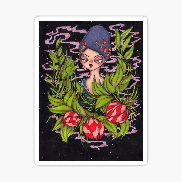Autumn Queen Sticker