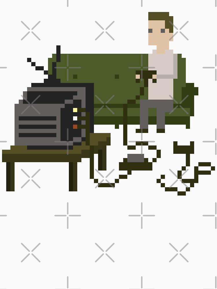 Gamer Pixel Art by obinsun