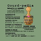 Gourd-pedia What's a Gourd Totes and Pillows Color 2 by Subwaysign