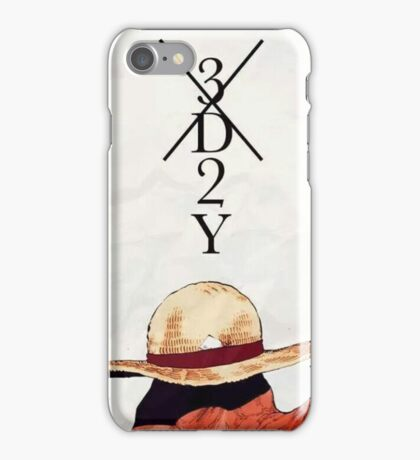 One Piece epic cool monkey d luffy ace epic iPhone Case/Skin