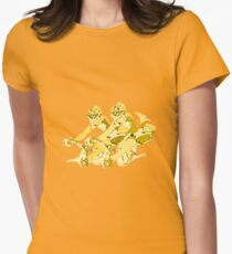 Cyclists Womens Fitted T-Shirt
