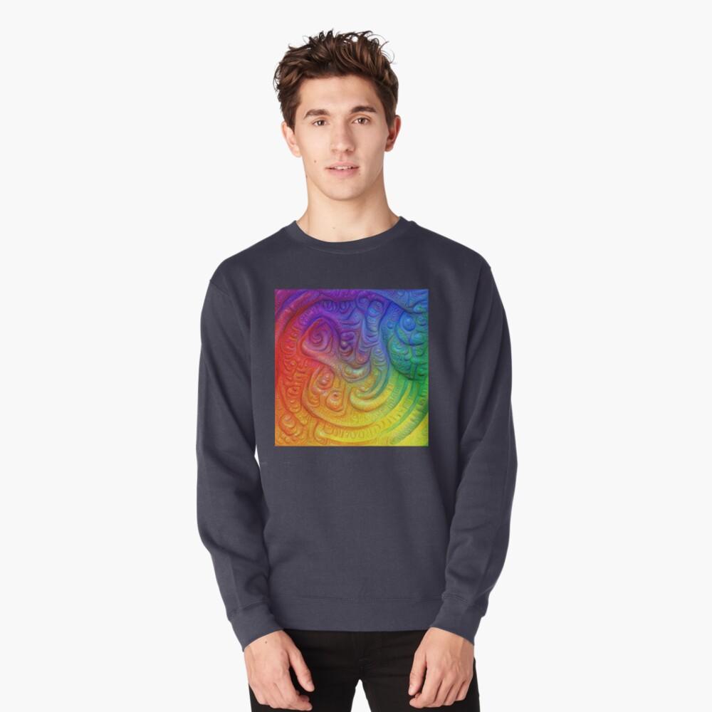 Color Foam #DeepDream Pullover Sweatshirt
