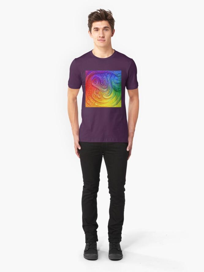 Alternate view of Color Foam #DeepDream Slim Fit T-Shirt