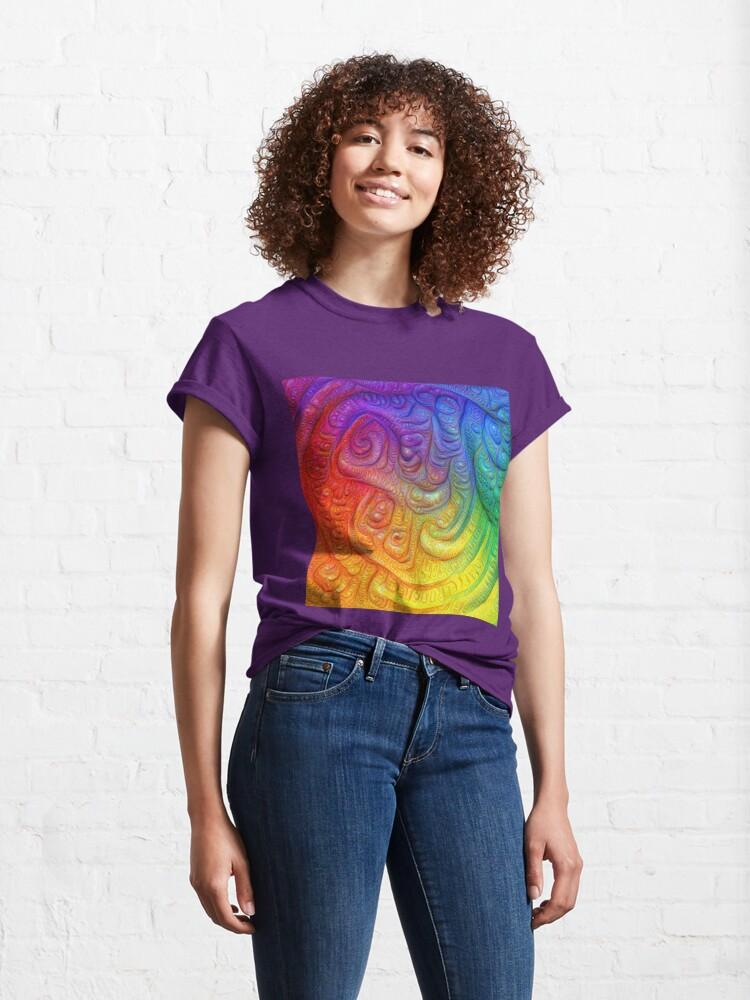 Alternate view of Color Foam #DeepDream Classic T-Shirt