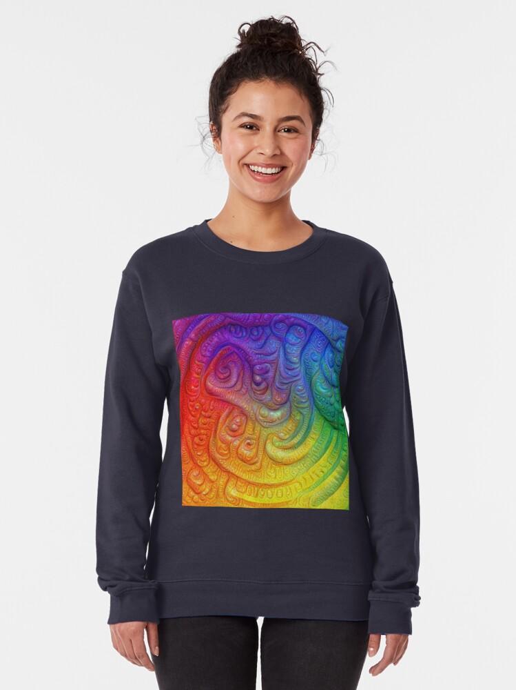 Alternate view of Color Foam #DeepDream Pullover Sweatshirt