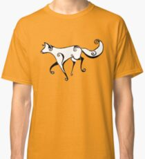 Swirl fox Classic T-Shirt