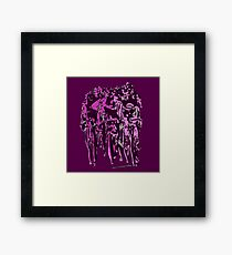 Cyclists Framed Print