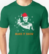 Star Data Trek Make it Snow Unisex T-Shirt