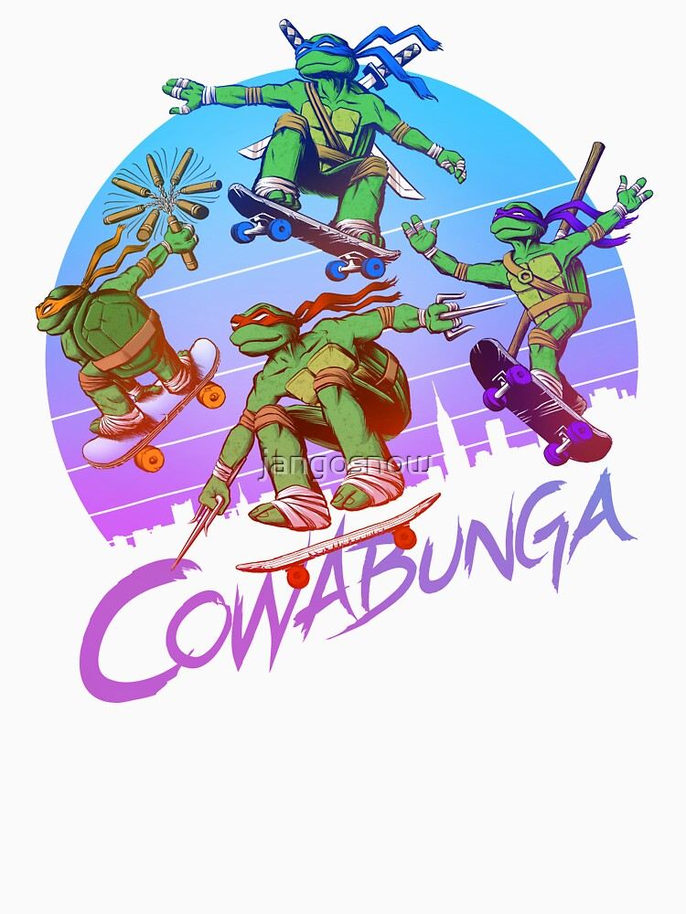 Cowabunga! by jangosnow